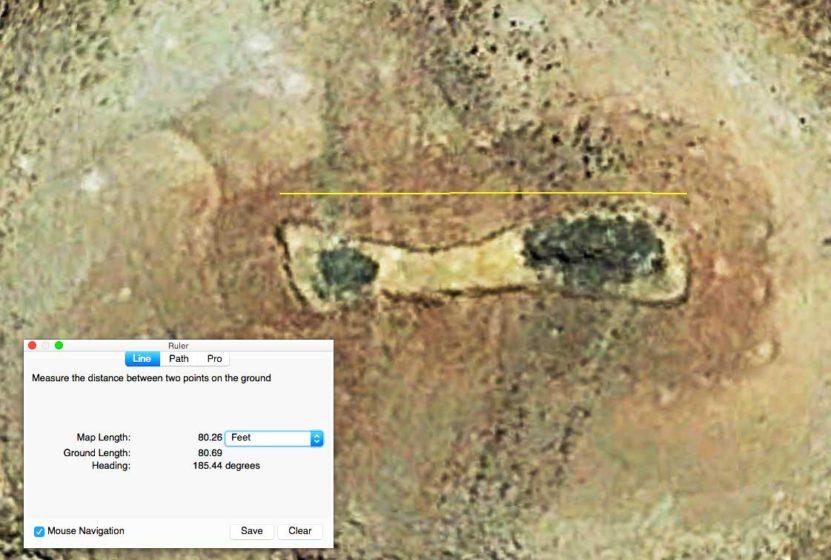 Unusual Geoglyph or Enclosure